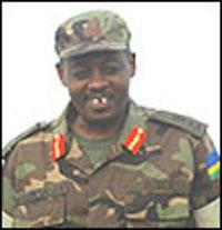 général Wilson Gumisiriza, l'assassin des Evêques à Gakurazo près de Kabgayi en juin 1994