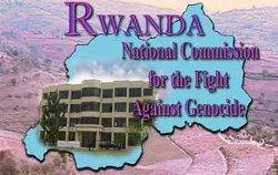 Logo de la Commission nationale de lutte contre le génocide