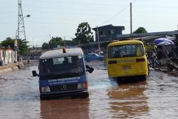 innondation des rues à kinshasa