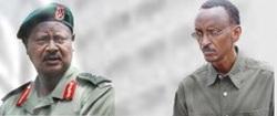 Museveni et Kagame