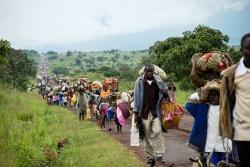 Réfugiés dans la région de Goma_photo Reuters