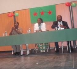 Nkiko Nsengimana, Victoire Ingabire et Eugène Ndahayo