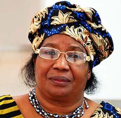 Joyce-Banda, prsidente du Malawi
