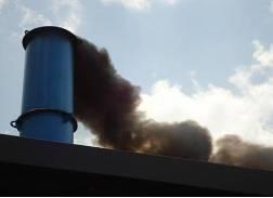 Pollution atmosphérique par l'incinérateur obsolète de l'hôpital Roi Fayçal à Kigali. Photo oag.gov.rw