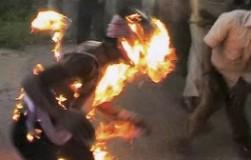 Un jeune qui s'immole par le feu en Tunisie
