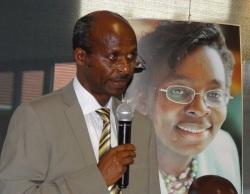 Joseph Bukeye, lors de son allocution à la clôture du congrès