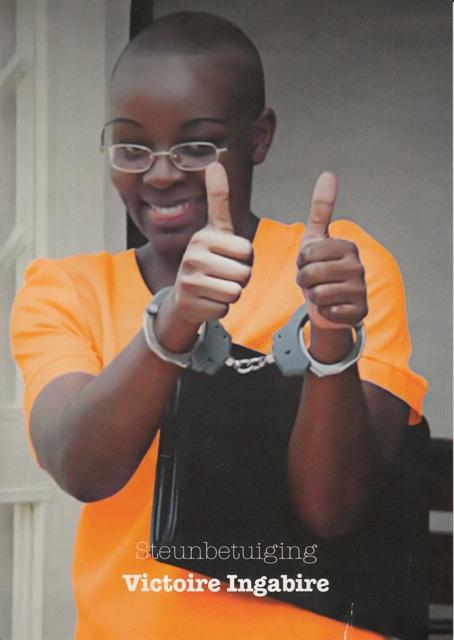 Victoire Ingabire Umuhoza. Déjà 4 ans de captivité.