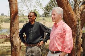 kagame clincton