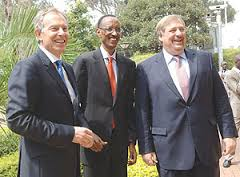 Tony Blair, Paul Kagame, Rick Warren