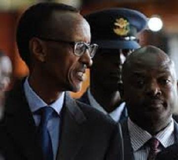 Paul Kagame et Pierre Nkurunziza
