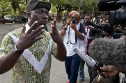 Charles Blé Goudé-leader des jeunes patriotes CI-Getty Images