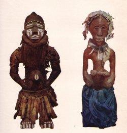 sculpture baluba/sculpture du Mayumbe-musée du Congo